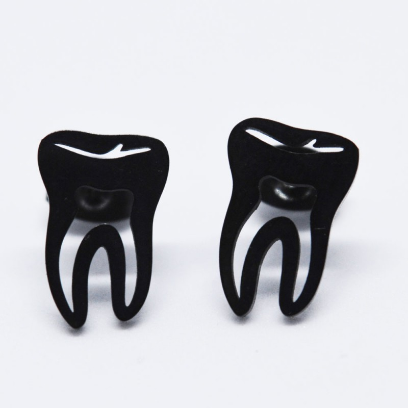 Náušnice pro zubařky - Chirurgická ocel