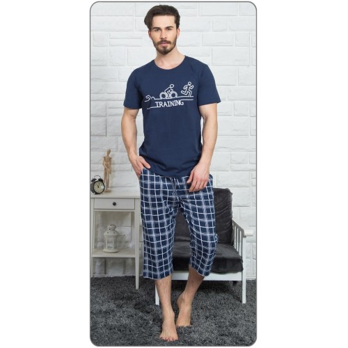 Pánské pyžamo kapri Triatlon