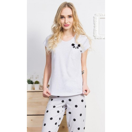 Dámské pyžamo kapri Panda