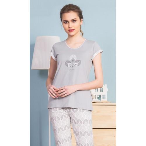 Dámské pyžamo kapri Sabina