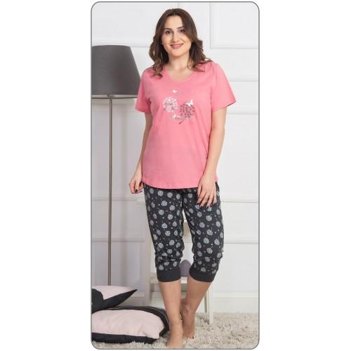 Dámské pyžamo kapri Pampelišky