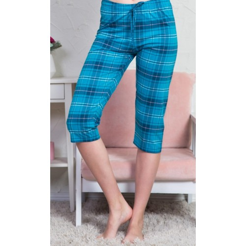 Dámské pyžamové kapri kalhoty Dagmar