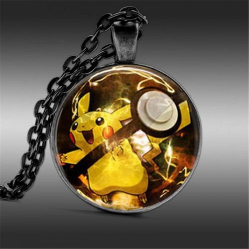 Pikachu Pokemon - náhrdelník