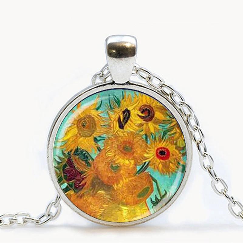 Van Goghova ložnice v Arles - náhrdelník