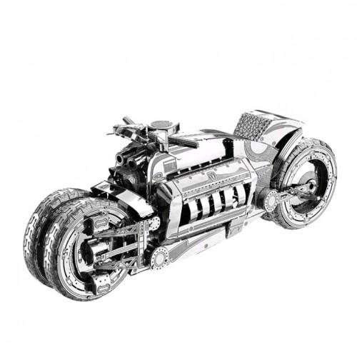 3D ocelová skládačka pásový Bagr v2
