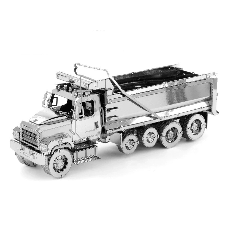 3D ocelová skládačka Nákladní auto