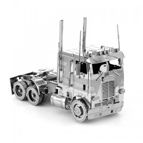 3D ocelová skládačka Nákladní auto popelář