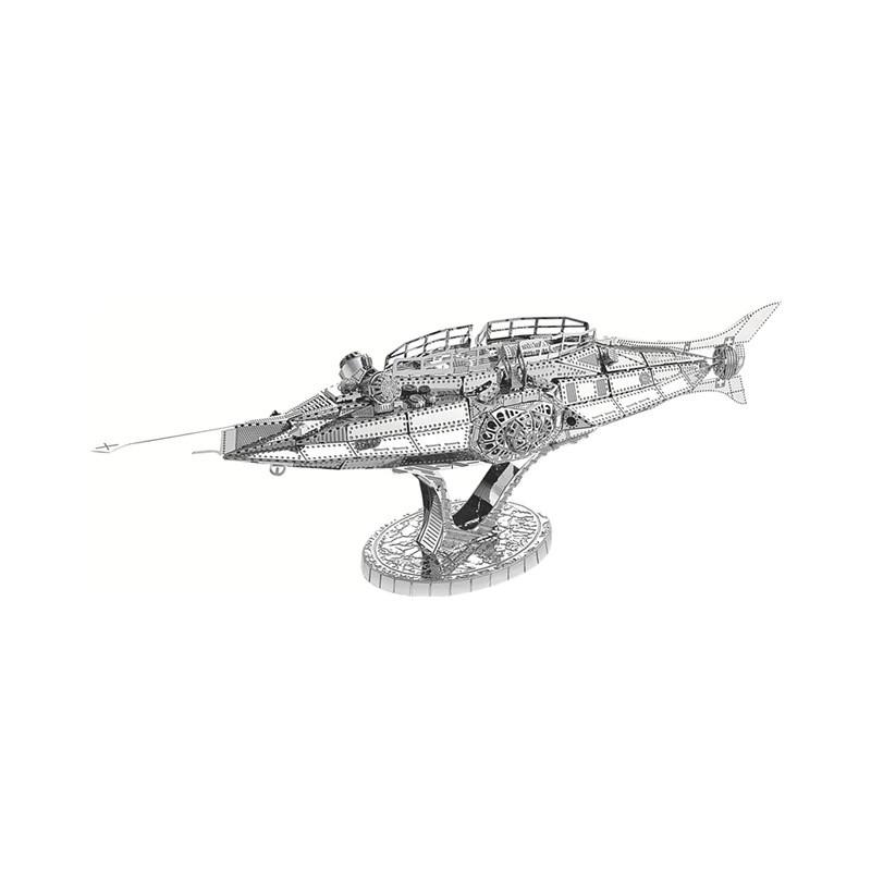 3D ocelová skládačka Loď Mayflower