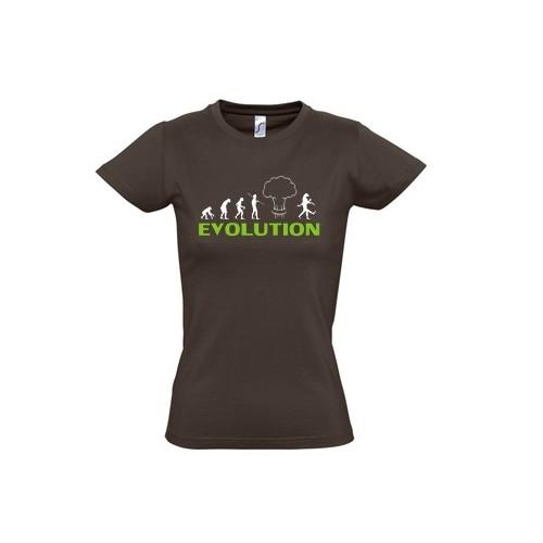 Tričko Evoluce - dámská