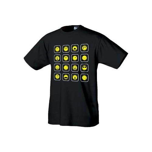 Geek tričko Smajlíci