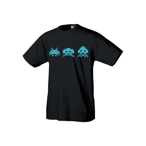 Retro tričko Space Invaders