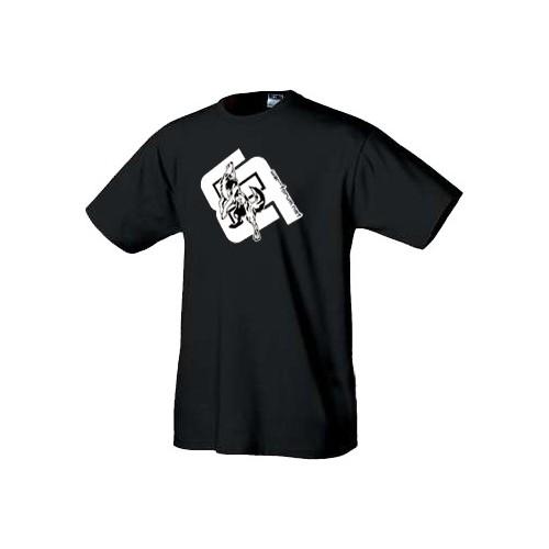 Warez tričko Vlk logo bílé
