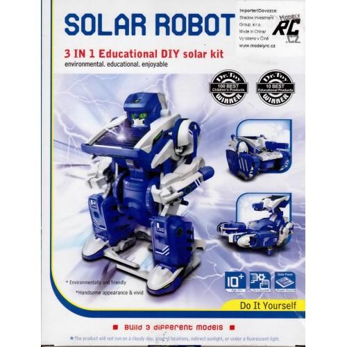 Solární stavebnice - Solar Robot 3v1