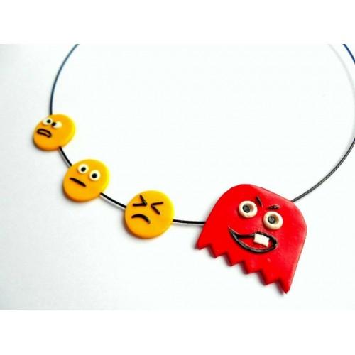Náhrdelník Pacman Emotion
