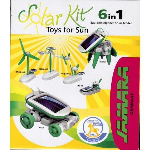 Solární stavebnice - SolarBot 6v1 Toys for sun