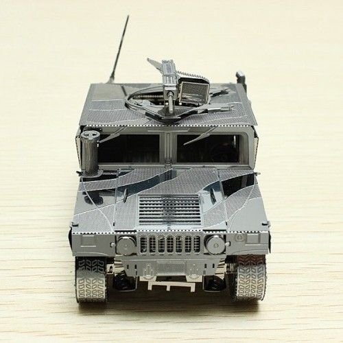 3D ocelová skládačka US Hummer