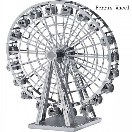 3D ocelová skládačka Ruské kolo