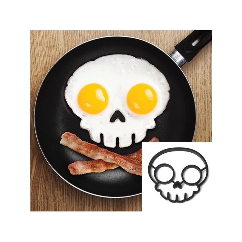 Silikonová forma na vajíčka - Lebka