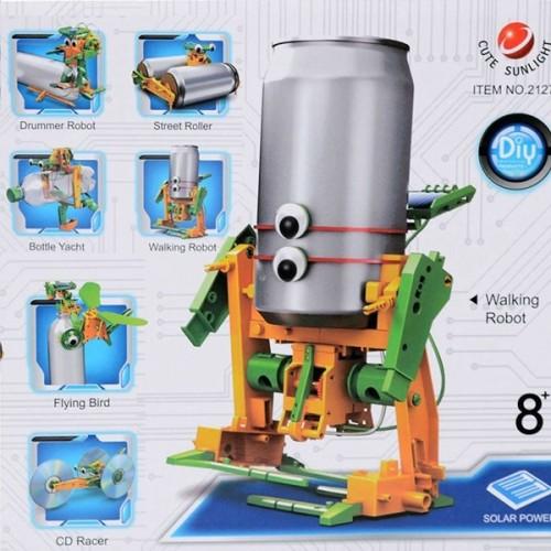 Solární robot 6v1 - Fun mechanics kit