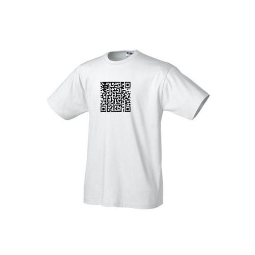 Geek tričko - QR pacman