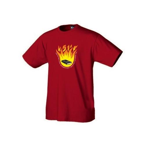 Geek tričko 451 stupňů Fahrenheita