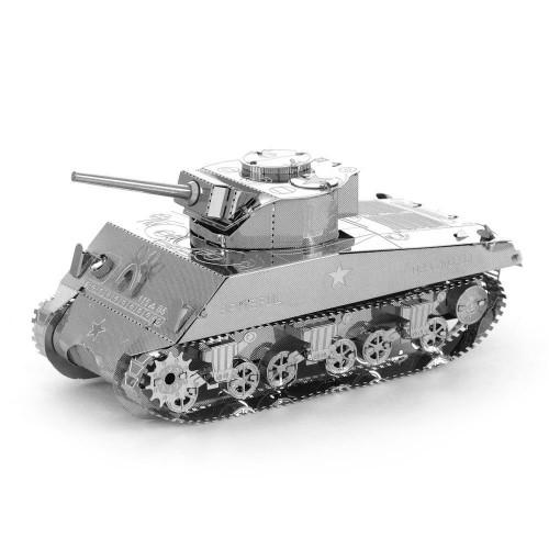 3D ocelová skládačka tank Sherman