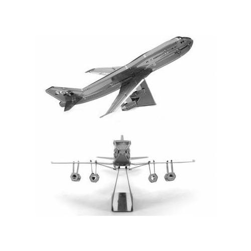 3D ocelová skládačka Boeing 747