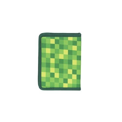 Pixie školní pixel penál 04- Zelený
