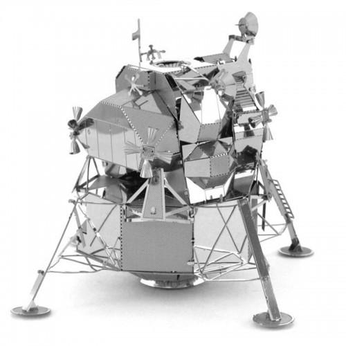 Lunární modul NASA Eagle Apollo 11- 3D ocelová skládačka