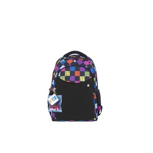 Dětský pixel batoh - Pixie Batoh 06 multibarevný