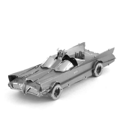 3D ocelová skládačka Batmobil Klasik