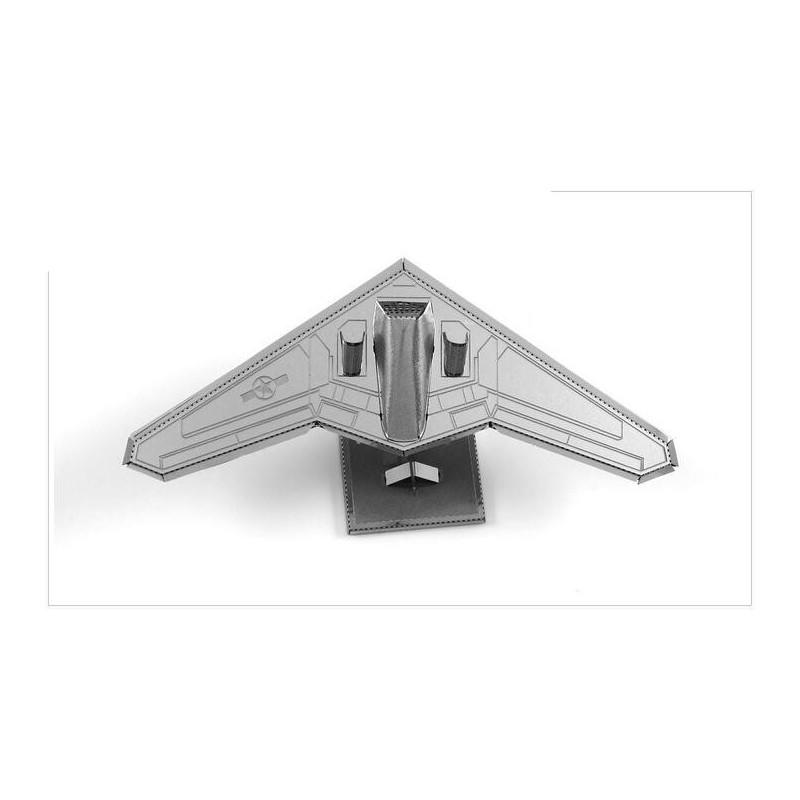 3D ocelová skládačka Letadlo Lockheed RQ-170 Sentinel