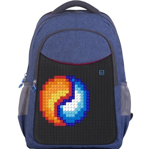 Dětský pixel batoh - Pixie Batoh 05 Modrá