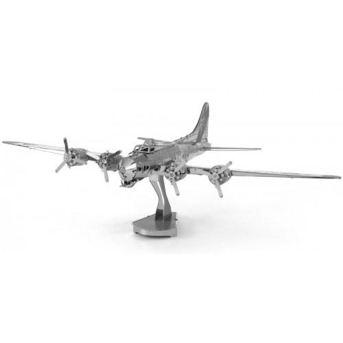 3D ocelová skládačka Letadlo B-17 Flying Fortress