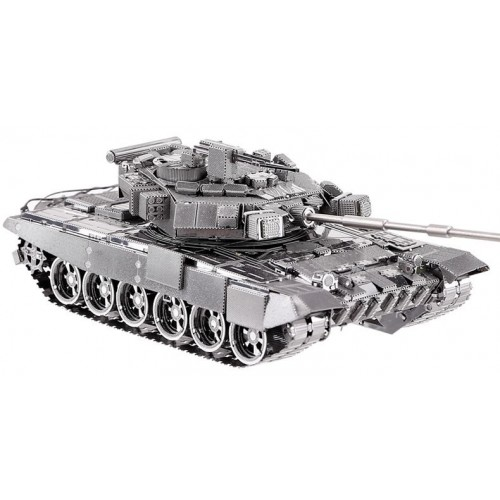3D ocelová skládačka TANK T-90A