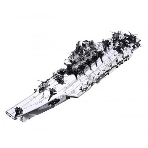VELKÁ 3D ocelová skládačka letadlová loď
