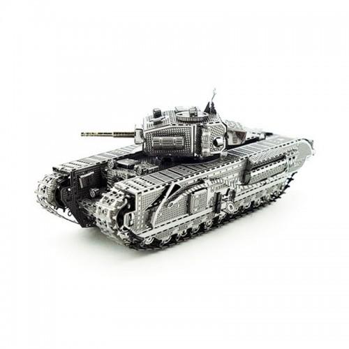 3D ocelová skládačka TANK T90A