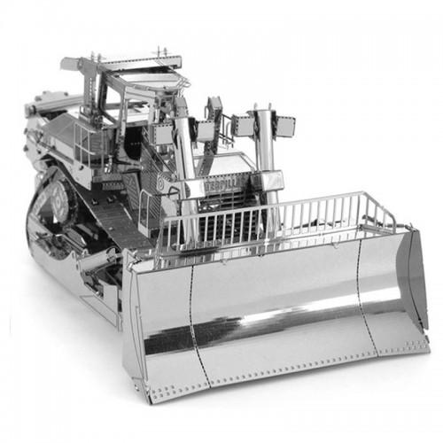 3D ocelová skládačka Buldozer