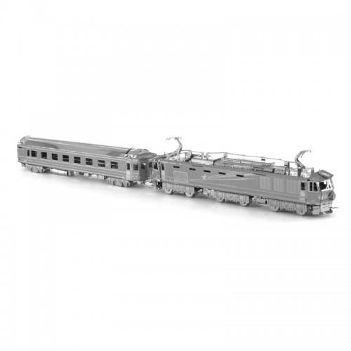 3D ocelová skládačka Japonský vlak EF510