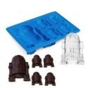 Star Wars R2-D2 - Silikonová forma na čokoládu nebo led