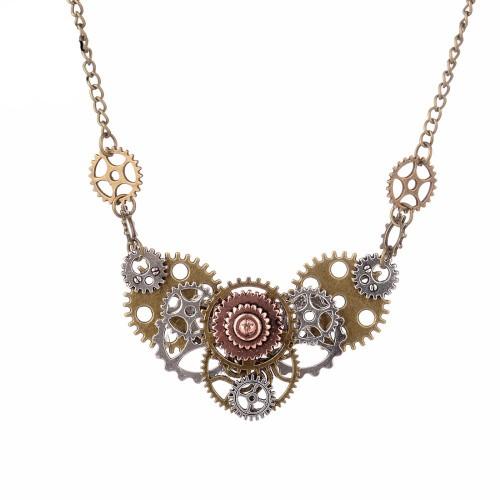 SteamPunk náhrdelník Srdce
