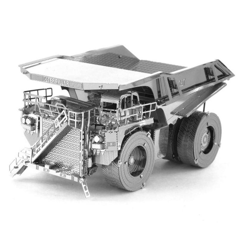 3D ocelová skládačka pásový Bagr