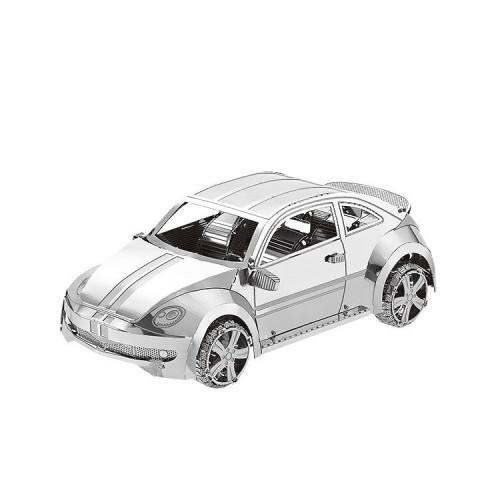 3D ocelová skládačka Volkswagen New Beetle