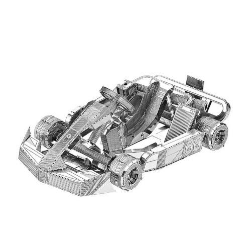 3D ocelová skládačka Minikára