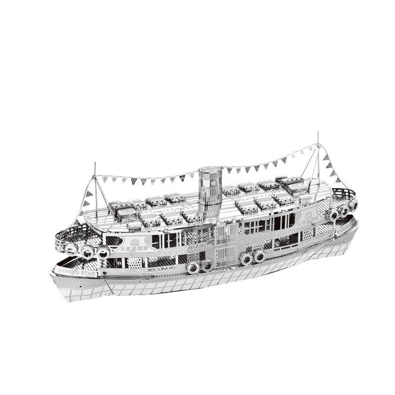 3D ocelová skládačka Výletní loď Bauhinia