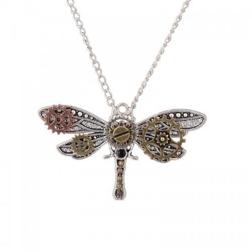 SteamPunk náhrdelník Dragonfly v3