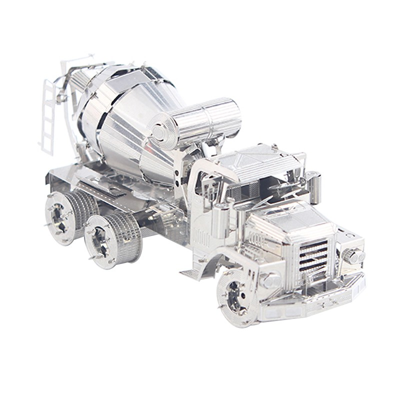 3D ocelová skládačka stavební tahačový válec