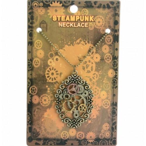 SteamPunk náhrdelník Andělský motor