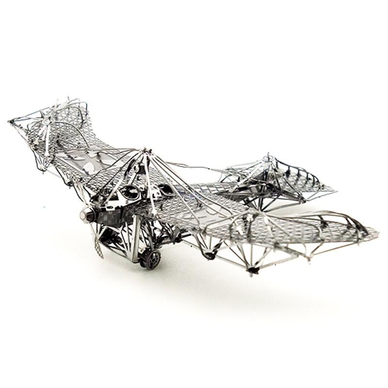 3D ocelová skládačka Jeřábový drapák