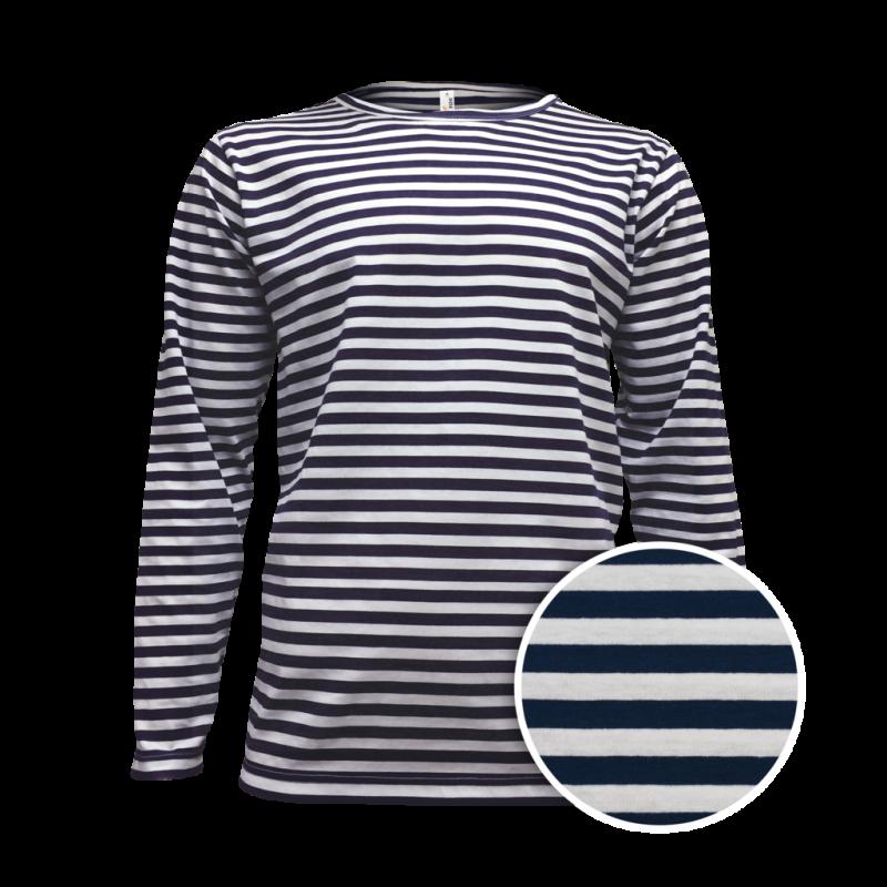 54ebd33d9c6a Vodácké námořní pruhované tričko pánské dlouhé
